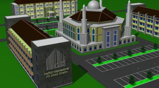 Denah Gedung Institut Pesantren KH Abdul Chalim yang menjadi Cikal bakal Universitas KH Abdul Chalim Mojokerto (PROSES )
