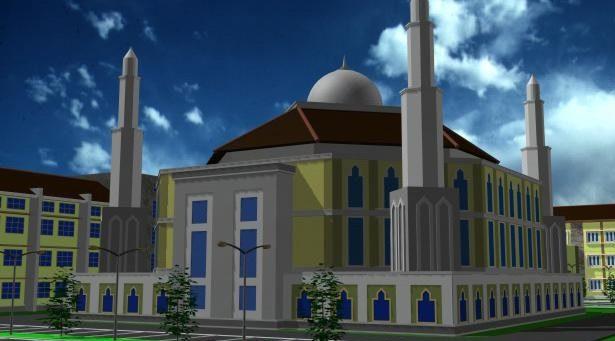 Masjid IKHAC (Proses)