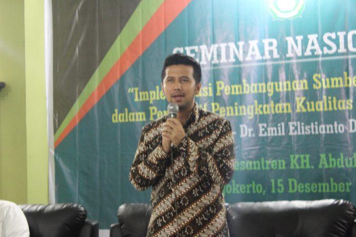 Seminar Dr. Emil Elestianto Dardak M.Sc (Wagub Jawa Timur)